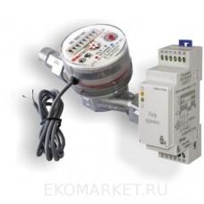 Импульсный водосчетчик + контроллер исполнительного устройства